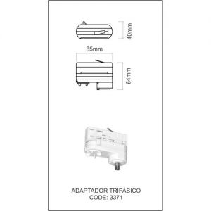 Adapter-voor-3-Fase-Spanningsrail-