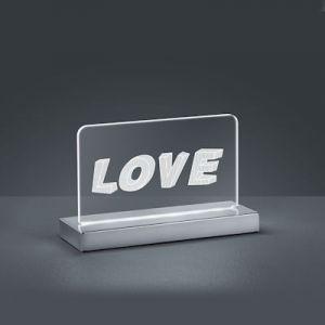 Tafellamp Led love  7 Watt  3000-6500k