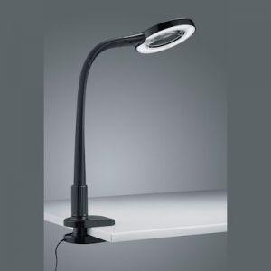 buro/loupelamp + klem  Led 5 Watt  zwart