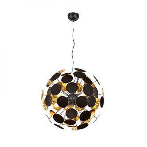 Plafond hanglamp DISCALGO zwart
