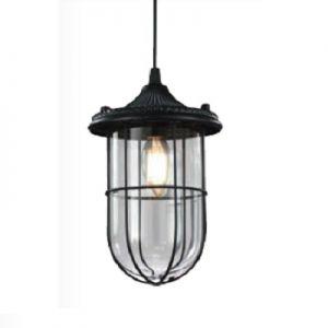 Hanglamp vintage   birte  zwart E14