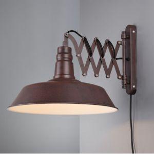 Wandlamp detroit  1x E27 max 42 Watt