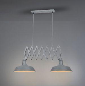 Hanglamp detroit  2x E27 max 42 Watt