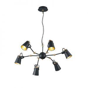 Plafond hanglamp EDWARD zwart