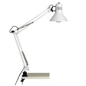 Klemlamp Brilliant Hobby wit