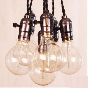 Industriële pendel lamp 6x voor LED