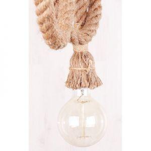 Vintage pendel lamp touw voor LED