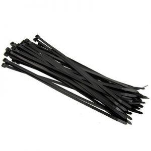 Kabelbinder tie wraps 370x4.8mm zwart