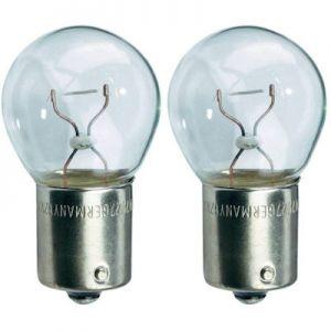 Autolamp 12V 10W Ba15s per 2 remlicht