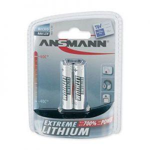 AAA lithiumbatterij 2 stuks