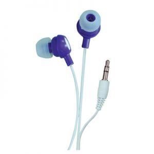 In ear headphone purple.