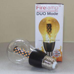 Fire effect lamp Helder 68 Leds A60 Zwart