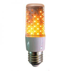 Fire effect lamp helder 64LEDs wit IP44