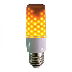Fire effect lamp opaal 64LEDs wit IP44