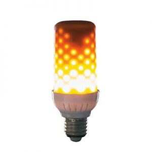 Fire effect lamp opaal 96LEDs wit