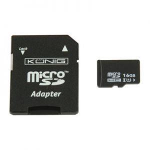 SDhc kaart micro 16 Gb. class 10