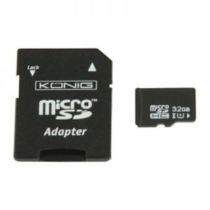 SDhc kaart micro 32 Gb. class 10