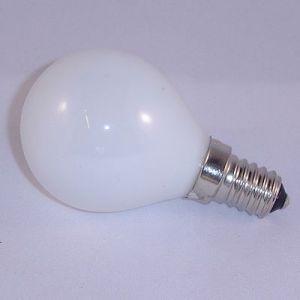 Kogellamp 25 watt Opaal E14