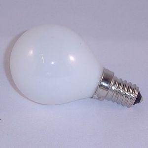 Kogellamp 60 watt Opaal E14