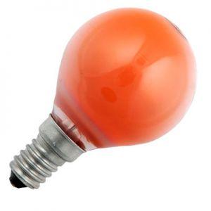 Kogellamp 15 watt E14 Mat Oranje