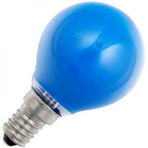 Kogellamp 15 watt E14 Mat Blauw