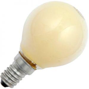 Kogellamp 15 watt E14 Mat Geel