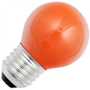 Kogellamp 15 watt E27 Mat Oranje