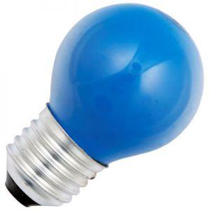 Kogellamp 15 watt E27 Mat Blauw
