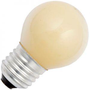 Kogellamp 15 watt E27 Mat Geel