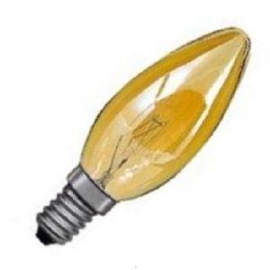 Kaarslamp 25 watt Goud E14