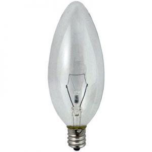 Kaarslamp helder e12 25W
