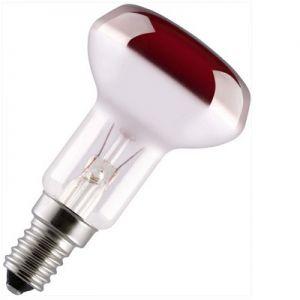 Reflectorlamp25 watt E14 50mm Rood