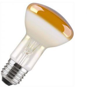 Reflectorlamp 40 watt E27 63mm Geel