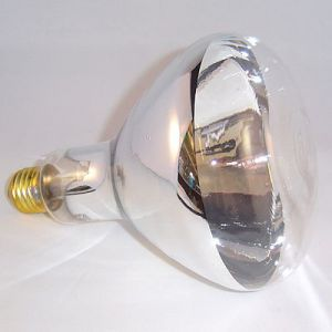 Infrarood lamp R125 wit
