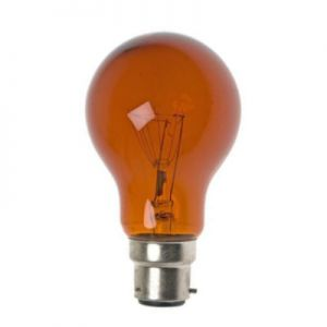 Haardvuurlamp 60 watt B22d 3 pins