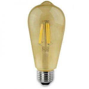 Ledlamp Vintage Rustiek E27 6W.