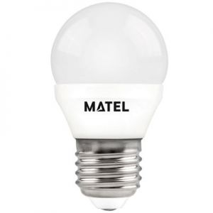 Ledlamp Kogellamp 6W. E27 Daglicht