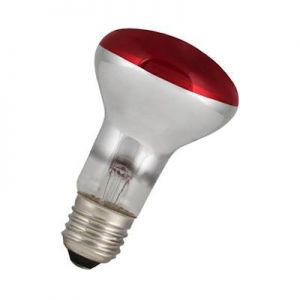 Led Reflector lamp R63 Rood
