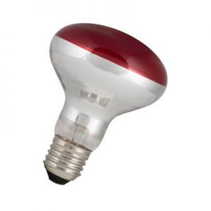 Led Reflector lamp R80 Rood