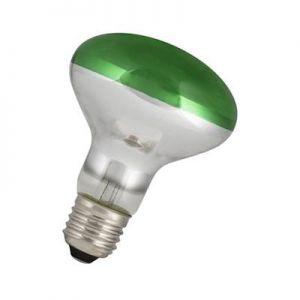 Led Reflector lamp R80 Groen