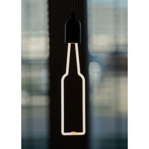 LED neon fles wit