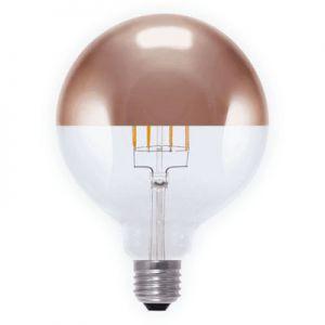 LED globelamp kopspiegel koper  8W
