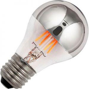 Led Lamp Kopspiegel 4w. E27 Zilver