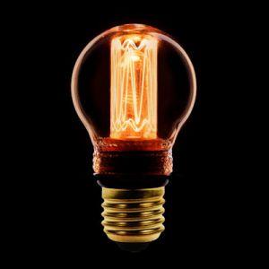 LED kooldraad kogellamp E27