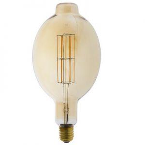 Calex-LED-Full-Glass-LongFilament-Colosseum-240V-11W-E40-BT180,-Gold-2100K-Dimmable