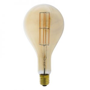 Calex-LED-Full-Glass-LongFilament-Splash-240V-11W-E40-PS160,-Gold-2100K-Dimmable