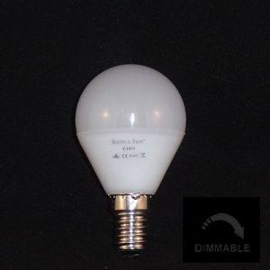Kogel lamp ESFERICA E14 2700K dimbaar