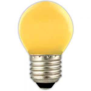 Calex  Gekleurde LED Lamp Kogel E27 Geel