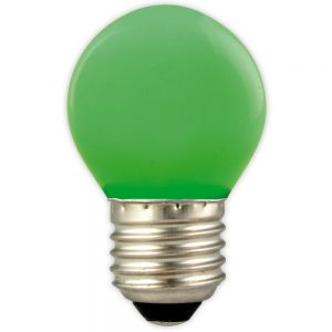 Led kogel P45 gekleurd groen