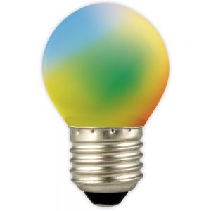 Calex-LED-Ball-lamp-240V-1W-12lm-E27-Changing-Colour-(Blue,-Yellow,-Green,-Orange,-Red)